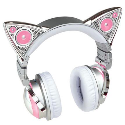 Brookstone 炫闪猫耳机限量版