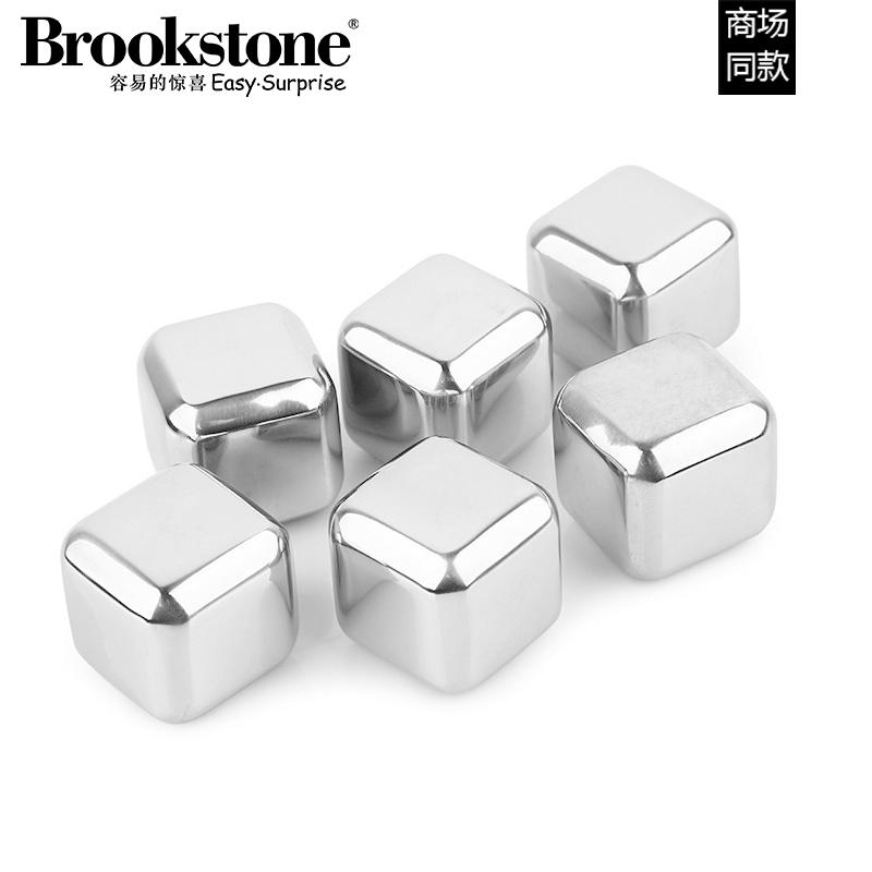 Brookstone 不锈钢冰块