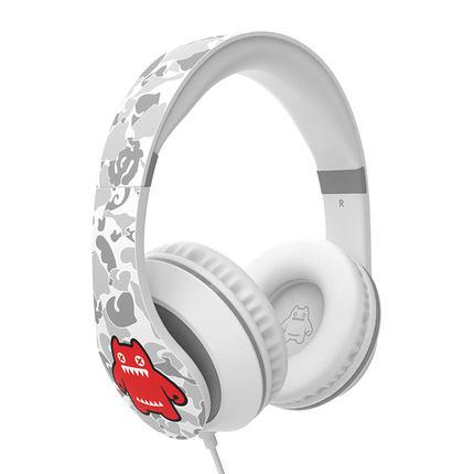 萌奇 魔鬼猫头戴式耳机