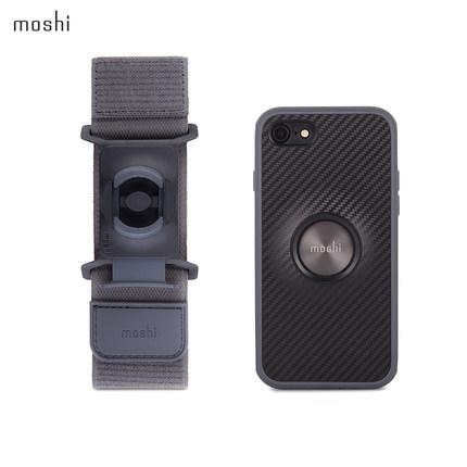 moshi摩仕苹果4.7寸防震壳运动套装