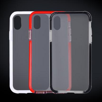 ipearl/爱贝尔iphoneX冰透双色手机壳
