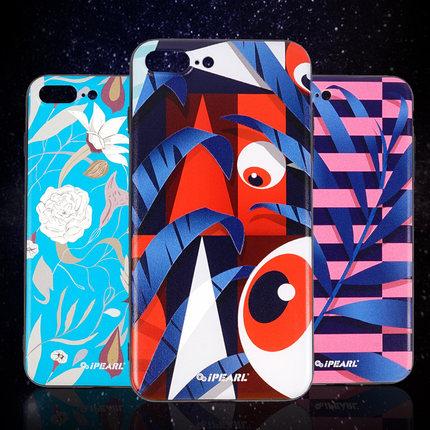 ipearl/爱贝尔iPhone7/8Plus手机壳 3D马尔斯风潮背壳