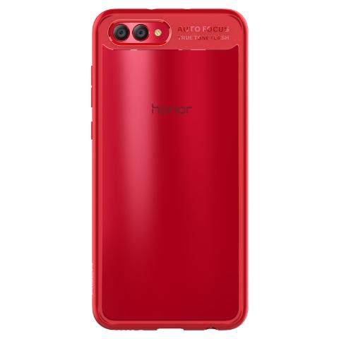 ROCK 荣耀 V10晶彩手机壳(红色)
