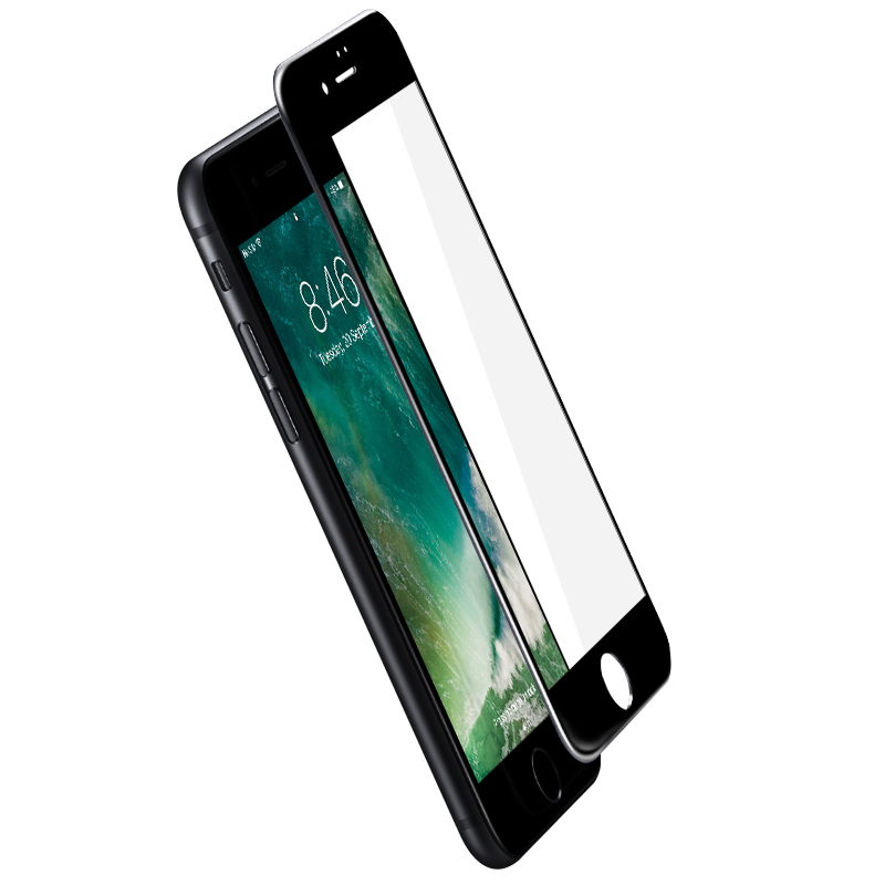 iPhone 7/7Plus 全屏覆盖 3D 软边钢化玻璃膜 抗蓝光